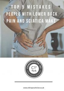 Top 5 Mistakes People With Lower Pain and Sciatica Make